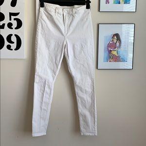 Skinny High Waist Ankle Jeans